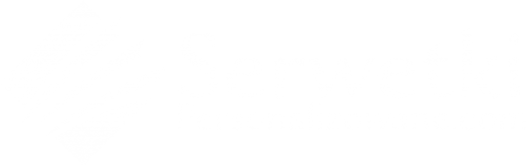 Serwetki Personalizowane.com horizontal blanco