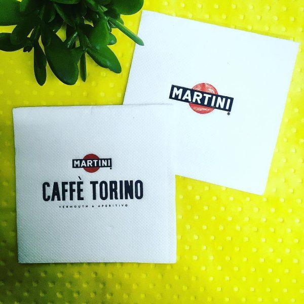 Serwetki z Nadrukiem Martini